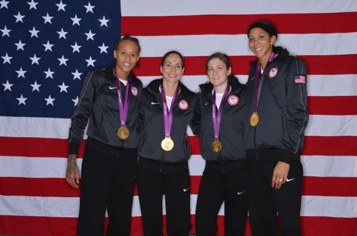 USA Women's Basketball Team Wins Seventh Gold (2012)