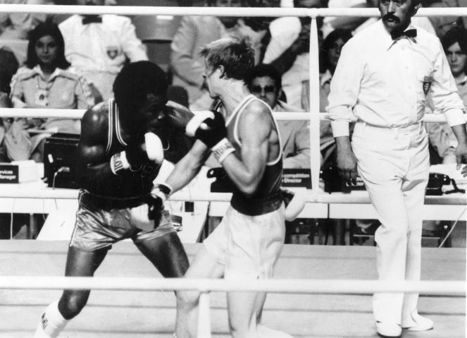 Boxing At Olympics