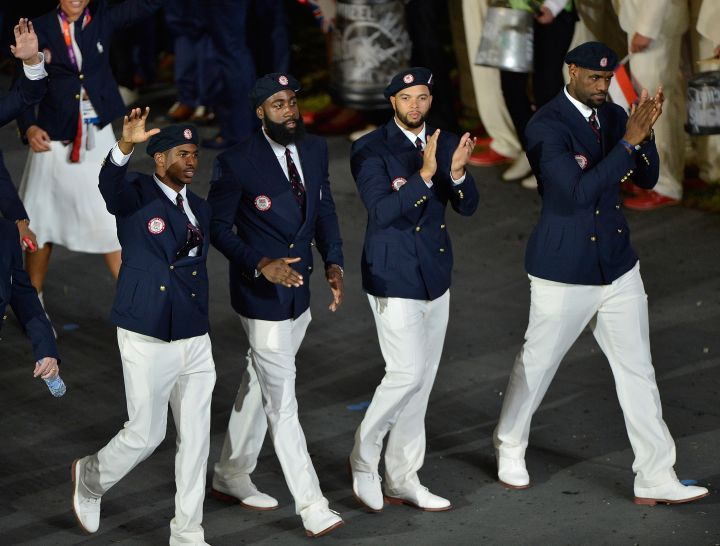 James Harden, LeBron James, 2012 London Olympics