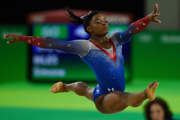 Rio 2016 floor exercise