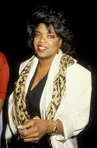 Oprah Winfrey Sighting at Spago's - June 17, 1988