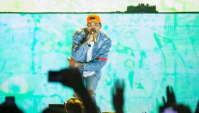 Chris Brown Performs At AccorHotels Arena In Paris
