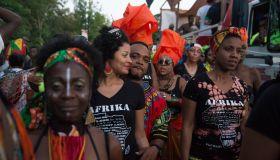 Caribbean Anti-Slavery Jouvert Street Festival Celebrated In Brooklyn