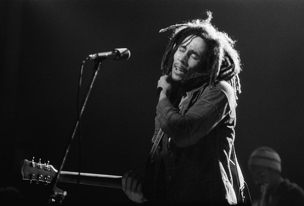 Bob Marley tritt in New York auf