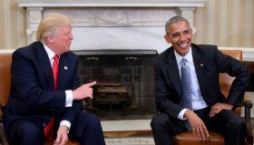 TOPSHOT-US-POLITICS-OBAMA-TRUMP