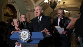 Senate Republicans And Democrats Hold Weekly Policy Luncheons
