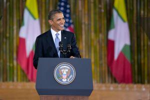 US President Obama Makes Historic Visit To Burma