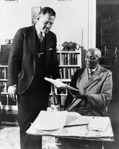 Frederick D. Patterson and George Washington Carver.