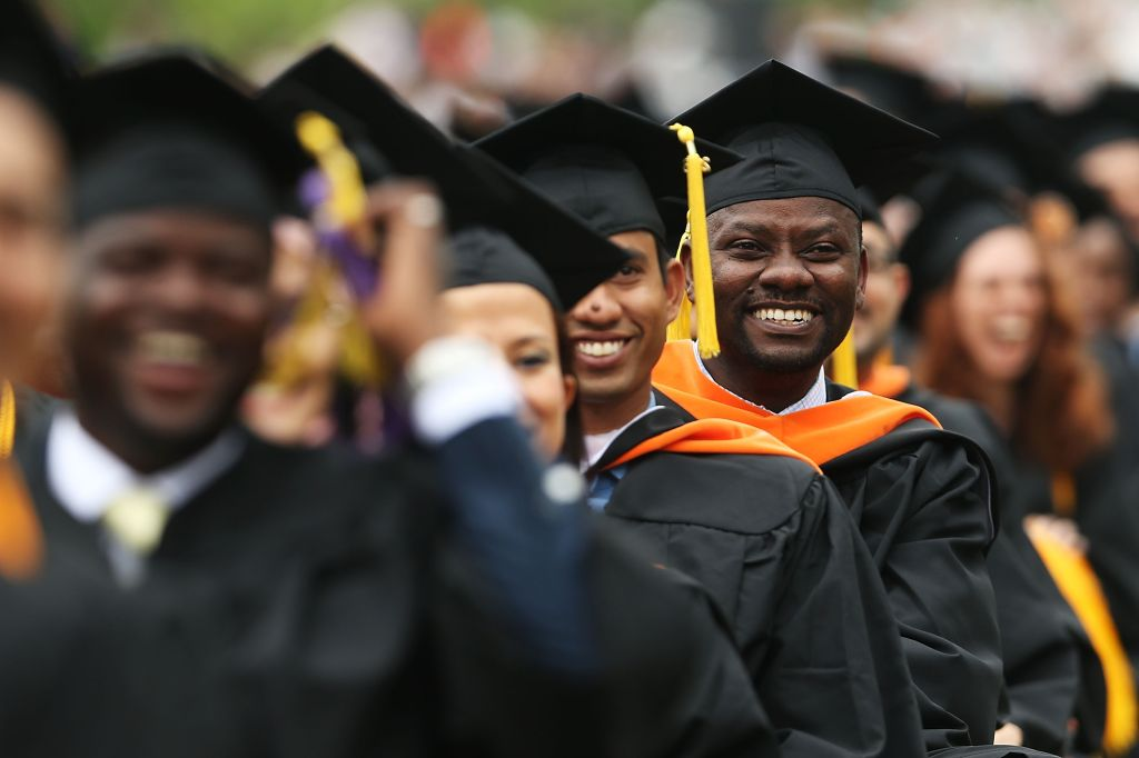 Michelle Obama Delivers Commencement Address At The City College Of New York