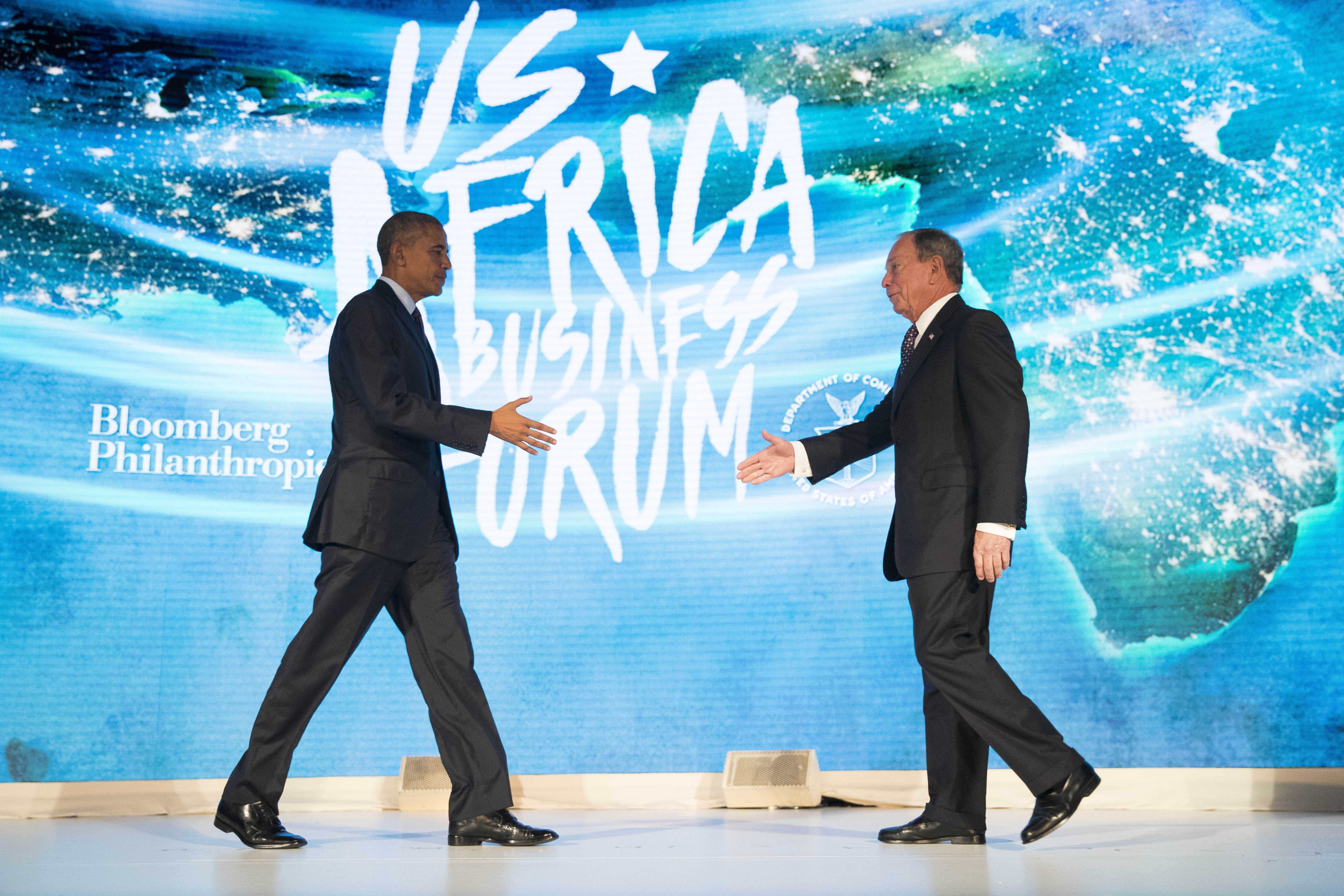 President Obama Speaks At The U.S.-Africa Business Forum In New York