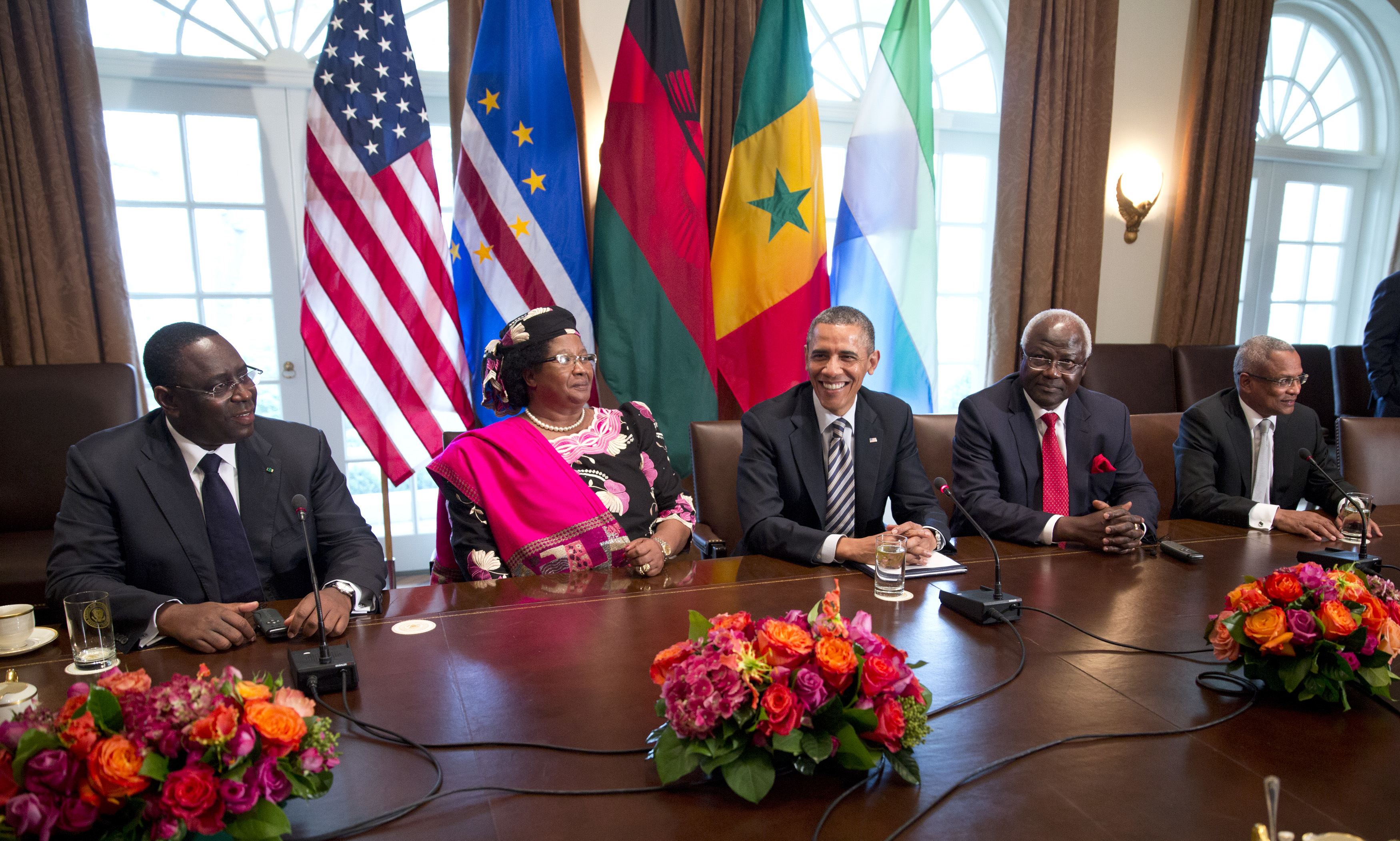 USA - Obama Meets with African Leaders