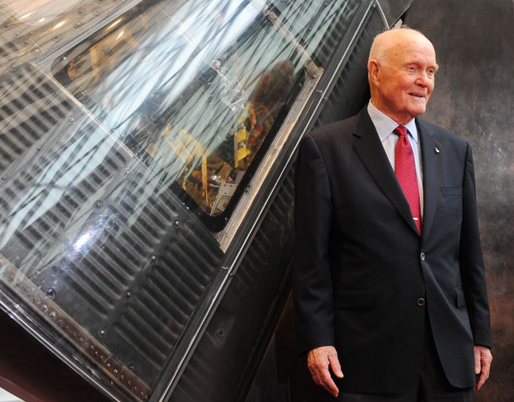 John Glenn, 95