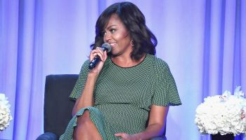First Lady Michelle Obama Discusses Let Girls Learn At The American Magazine Media Conference
