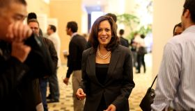 USA - Politics - California Attorney General Kamala D. Harris at the California Democratic Convention