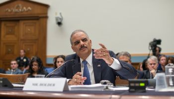 Holder testifies on Cap Hill