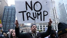 Anti-Trump Protest in Chicago