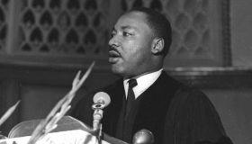 Dr. King Speaks At Quinn Chapel