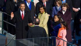 USA - Presidential Inauguration - Barack Obama Sworn in as President