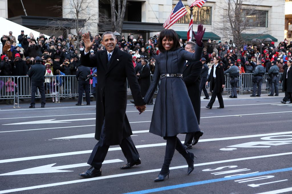 USA - Presidential Inauguration - Parade