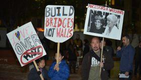 Anti-Trump protest in Los Angeles