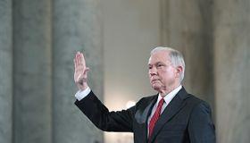 Senator Jeff Sessions confirmation hearing - Washington, DC