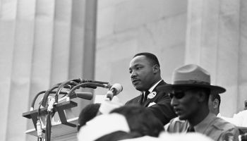 King Speaking at Freedom March