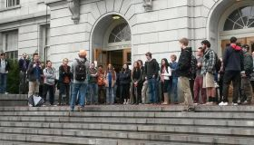Students occupy Wheeler Hall to protest tuition hikes