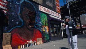 Wall Mural for Amadou Diallo