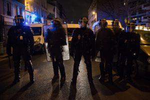 Protest against police in Paris