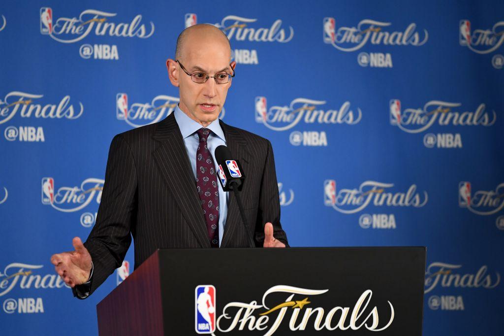 NBA Commissioner Adam Silver Press Conference