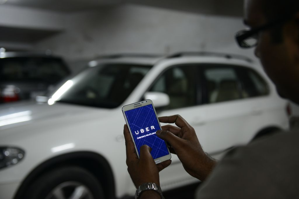 UBER Cabs Booking Using Mobile App