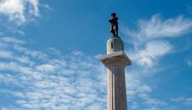 Robert E. Lee Monument.