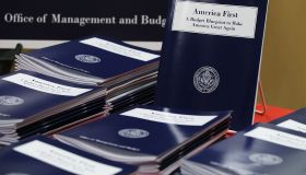 Gov't Publishing Office Releases Trump's Budget Blueprint For FY2018