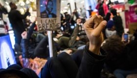 Demonstrations Over Recent Grand Jury Decisions In Police Shooting Deaths Continue