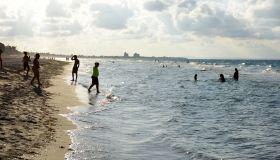 Caribbean sea of Varadero in Cuba