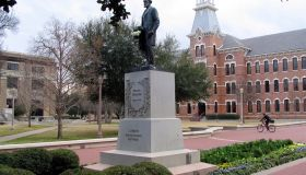 The campus of Baylor University is at the heart of Waco, Tex
