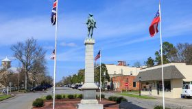 Memorial to Confederate Soldiers - Downtown Edenton North Carolina