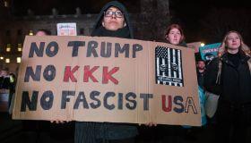 Donald Trump Protests at Parliament Square