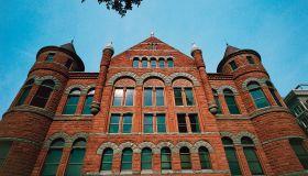 Facade of Dallas County Courthouse, Dallas, Texas