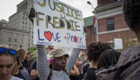 Tensions with Baltimore residents continue as protestors march in solidarity for Freddie Gray