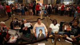 Activists March, Hold Sit-In For Gun Safety Legislation At U.S. Capitol