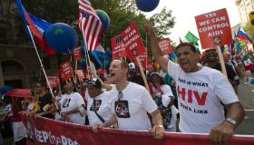 Keep The Promise on HIV/AIDS' march on Washington D.C.