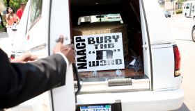 NAACP Hosts 'Funeral for 'The N-Word''