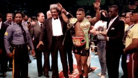 Mike Tyson And Don King In Atlantic City