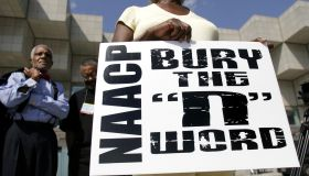 NAACP Holds Mock Funeral To 'Bury' The N-Word