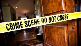 Crime Scene at Residential Home