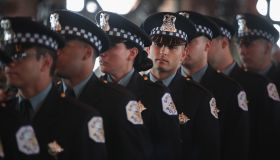 Graduation Ceremony Held For Chicago Police Department Cadets