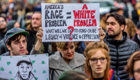 A crowd of about 300 people gathered in Union Square on the...