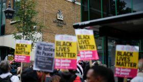BRITAIN-POLICE-RIGHTS-DEATH-PROTEST