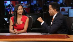 News One Now With Roland Martin Taping Special Hollywood Edition - Day 1